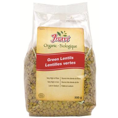 Inari Organic Green Lentils
