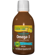 Webber Naturals Crystal Clean From The Sea with D3 Lemon Cake