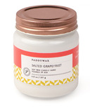 Paddywax Happy Salted Grapefruit Soy Wax Candle Jar