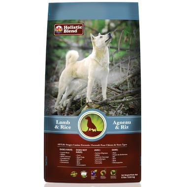 Holistic Blend Lamb & Rice Dog Food