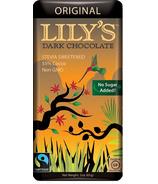 Lily's Sweets Dark Chocolate Bar Original