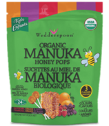 Wedderspoon Organic Manuka Honey Pops Variety Pack
