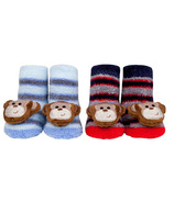Waddle Monkey Rattle Socks