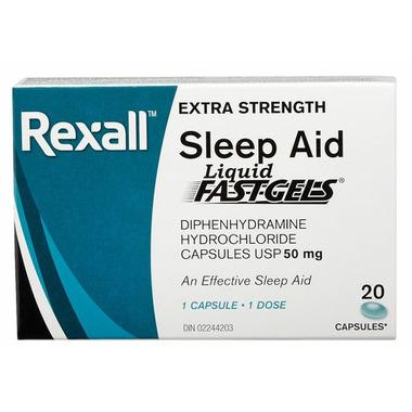 Rexall Sleep Aid Liquid Fast Gels