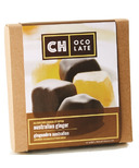 CH Ocolate Belgium Dark Chocolate Dipped Australian Ginger