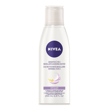 Nivea Sensitive 3 in 1 Micellar Cleansing Water