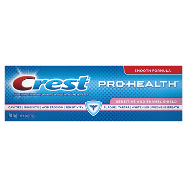 Crest Pro-Health Sensitive and Enamel Shield Toothpaste