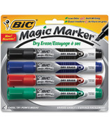 Bic Erase Magic Markers with Chisel Tip