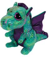 Ty Cinder The Dragon Beanie Boos Small
