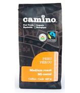 Camino Peru Organic Medium Roast Ground Coffee