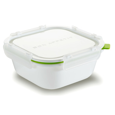 Box Appetit Lunch Box Square Large Lime