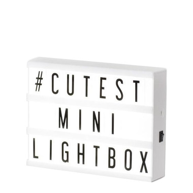 My Cinema Lightbox Colour Changing Mini