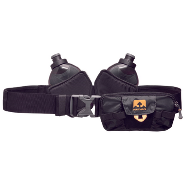 Nathan Sports Switchblade 24oz Hydration Belt Black