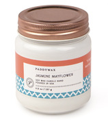 Paddywax Happy Jasmine Mayflower Soy Wax Candle Jar