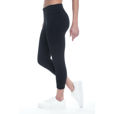 Gaiam Om Yoga Capri Black
