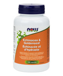NOW Foods Echinacea & Goldenseal Roots 1:1 Blend