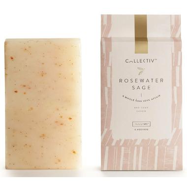 Illume Rosewater Sage Bar Soap