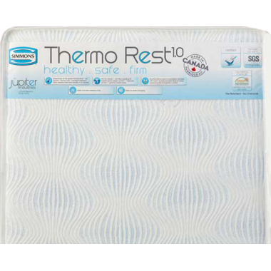 Simmons Thermo Rest Delux Crib Mattress