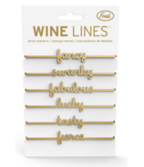 Fred and Friends Wine Lines Sassy Markers