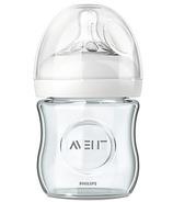Philips AVENT Natural 4 oz Glass Feeding Bottle