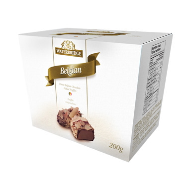Waterbridge Belgian Flaked Truffle
