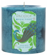 Pacifica Pillar Candle Waikiki Pikake