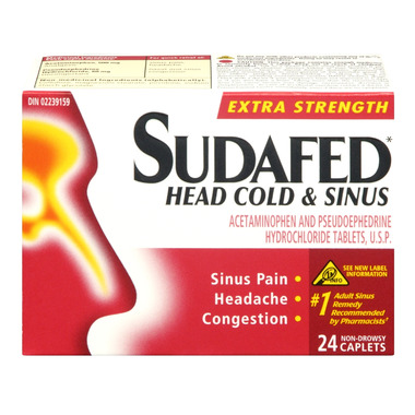 Sudafed Head Cold & Sinus