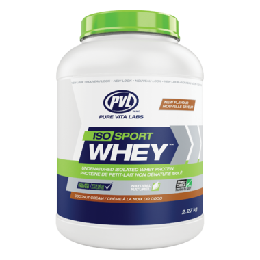 PVL All Natural ISO Sport Whey