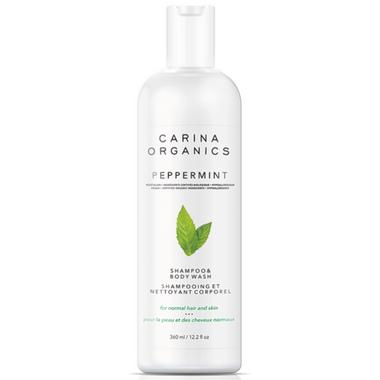 Carina Organics Shampoo & Body Wash Peppermint