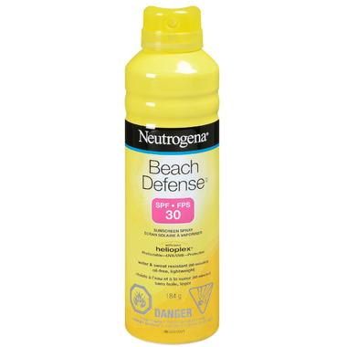 Neutrogena Beach Defense Sunscreen Spray SPF30
