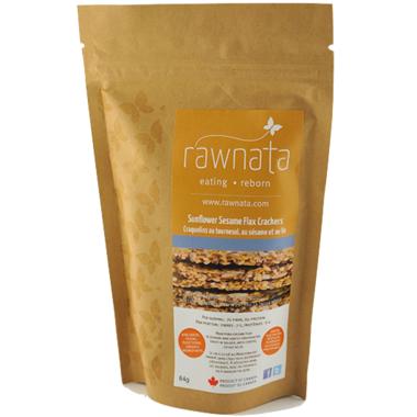 Rawnata Sunflower Sesame Flax Crackers
