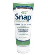 Snap Clear Skin Gentle Pumice Facial Scrub with Tea Tree