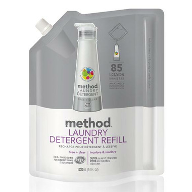 Method Laundry Detergent Refill Free + Clear