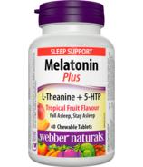 Webber Naturals Melatonin Plus