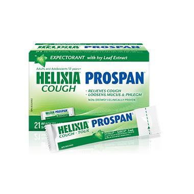 Helixia Cough Prospan Syrup Single-Dose Sachets