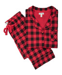 Hatley Buffalo Plaid Women's Cotton Jersey Pajama Set