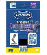 Dr. Scholl's Women's Sheer Graduated Compression Support Socks