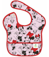 Bumkins Disney SuperBib Minnie Mouse Classic