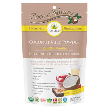 Ecoideas Coco Natura Organic Coconut Milk Powder Vanilla