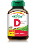 Jamieson Vitamin D Softgel Bonus Pack