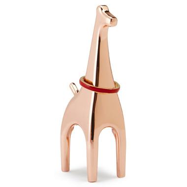 Umbra Anigram Giraffe Ring Holder Copper