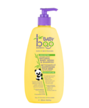 Boo Bamboo Baby Unscented Squeaky Clean Baby Wash & Shampoo