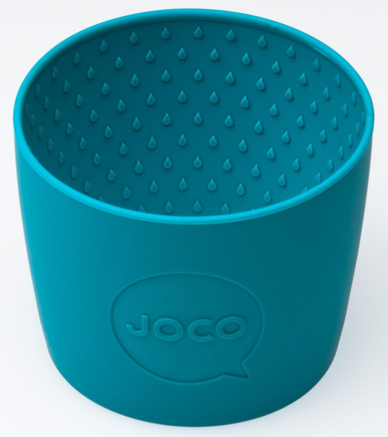 Buy Joco Glass Reusable Coffee Cup In Blue At Well Ca