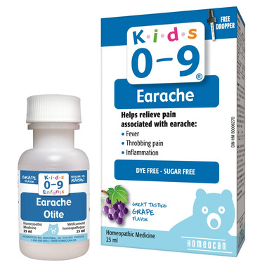 Homeocan Kids 0-9 Earache Oral Solution