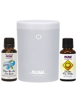 NOW Solutions Portable USB Ultrasonic Diffuser Gift Set
