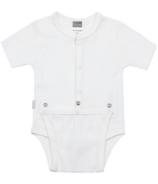 Kushies Diaper Shirt White