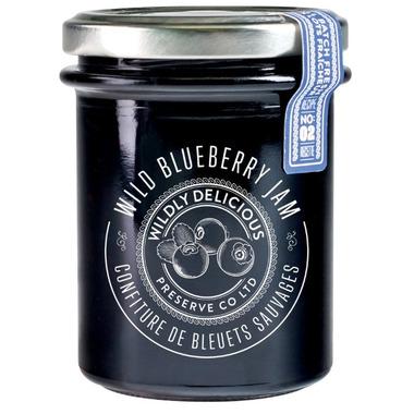 Wildly Delicious Wild Blueberry Jam