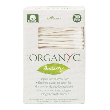 Organ(y)c Beauty 100% Organic Cotton Swabs