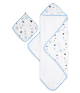 aden + anais Muslin Backed Hooded Towel & Washcloth