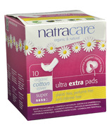NatraCare Ultra Extra Pads With Wings Super